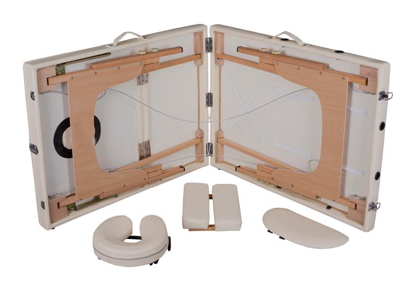 Массажный-стол-SOL---дерево-(бук),-3-секц,