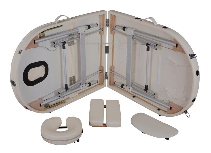 Массажный-стол-WEN,-алюминий,-3-секции,-стандарт