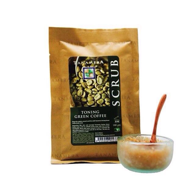 Скраб для тела Tanamera Зелёный кофе 100г
